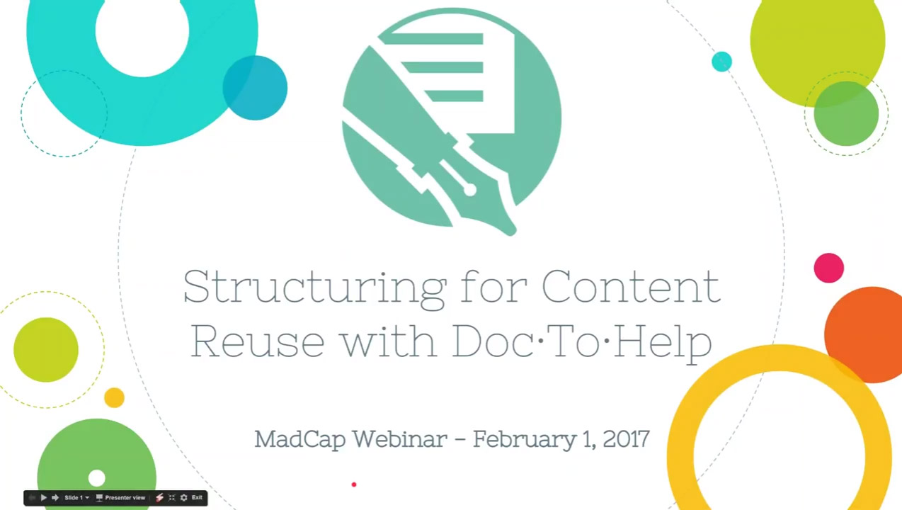 Structuring Your Way to Content Reuse with MadCap Doc To Help